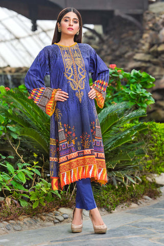 Warda Designer Collection - Single Shirt Lawn Embroidery 1320425