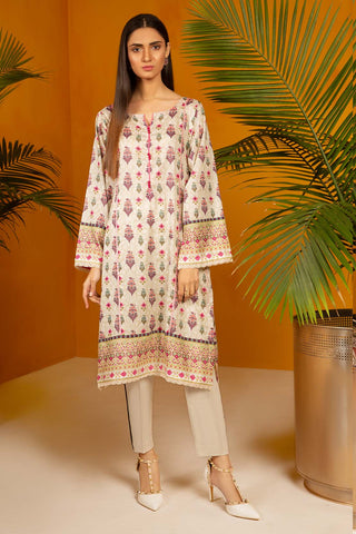 Warda Designer Collection - Single Shirt Lawn Print-Regular (2.5) 130414A