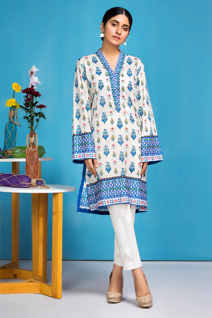 Warda Designer Collection - Single Shirt Lawn Print-Regular (2.5) 1320414