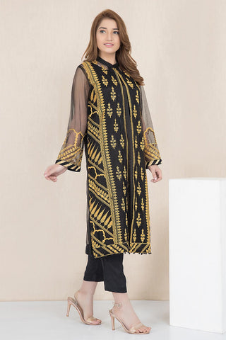 Warda Designer Collection - Formal Embroidered Shirt with Inner LPW1902
