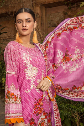 Warda Designer Collection - 3PC Lawn Embroidery 380269A