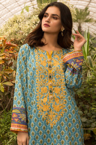 Warda Designer Collection - Single Shirt Lawn Embroidery- (2.5 Meter) 130439A