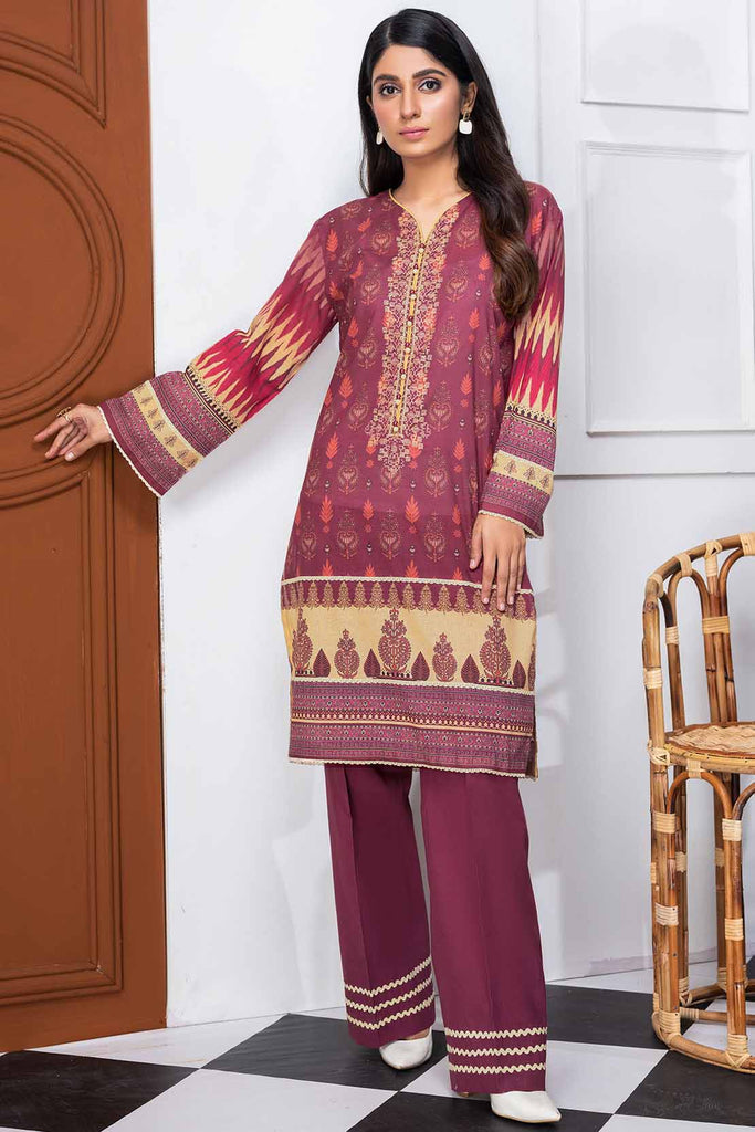Single Shirt Lawn Embroidery 1320434