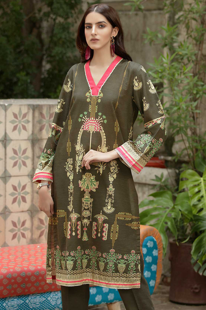 Single Shirt Khaddar Print 1320943
