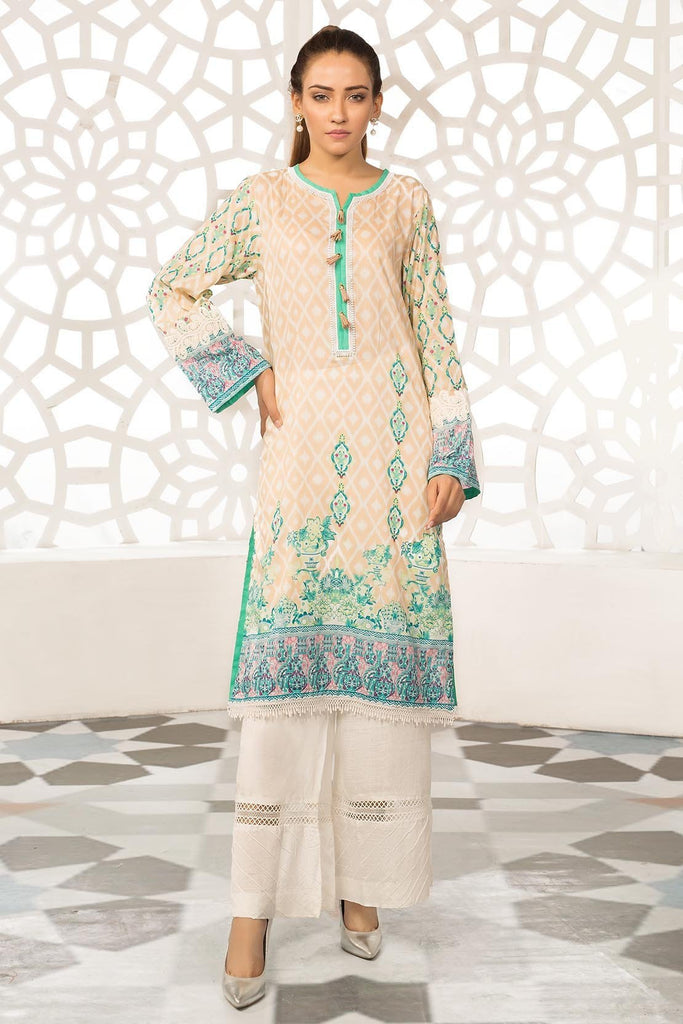 Warda Designer Collection - Single Shirt Lawn Print 139298A