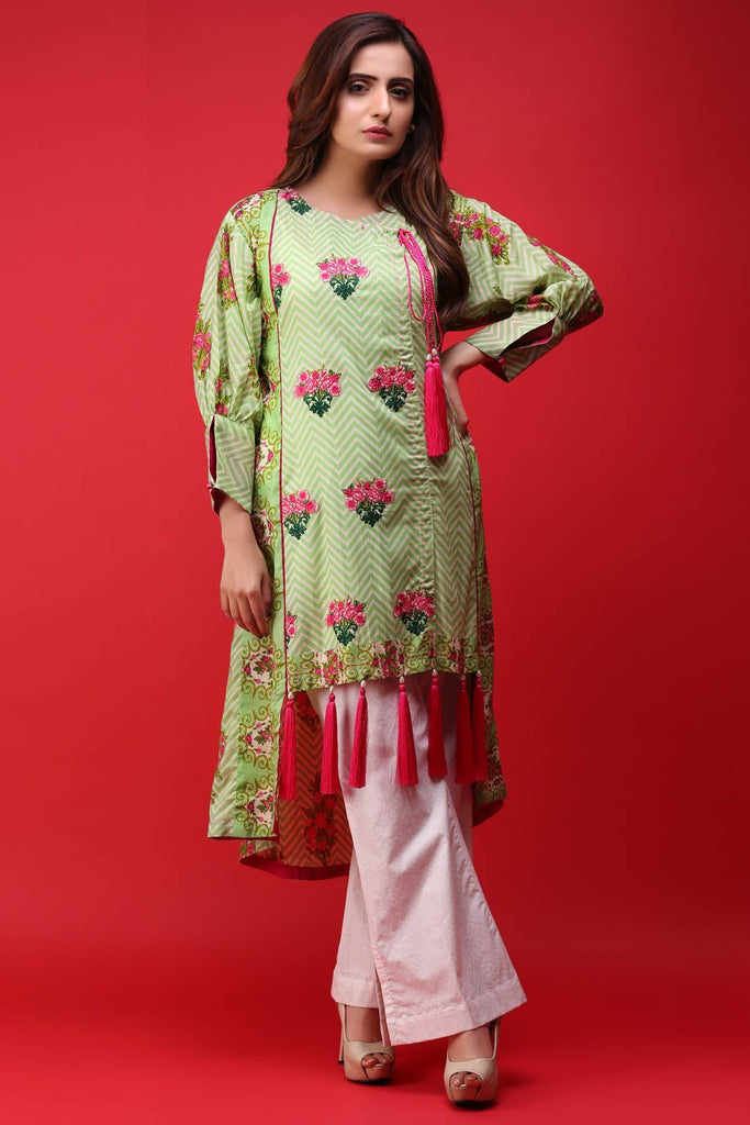 Warda Designer Collection - Single Shirt Lawn Embroidery 1307191