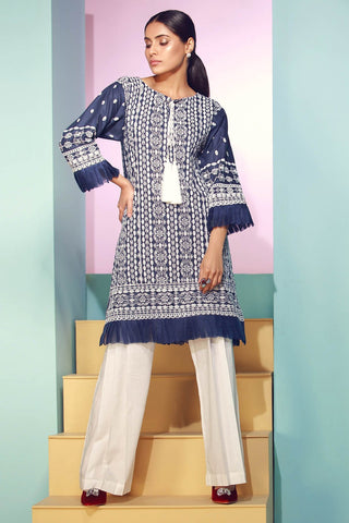 Warda Designer Collection - Single Shirt Lawn Chikan Kari 1308101