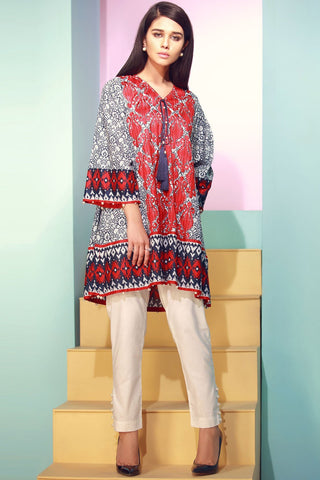 Warda Designer Collection - Single Shirt Lawn Kashmiri Embroidery 1308058