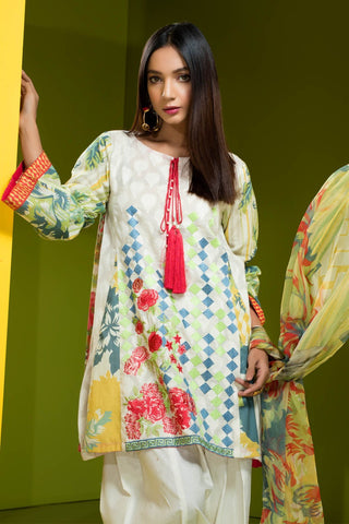 Warda Designer Collection - Tropical Wave 3818136