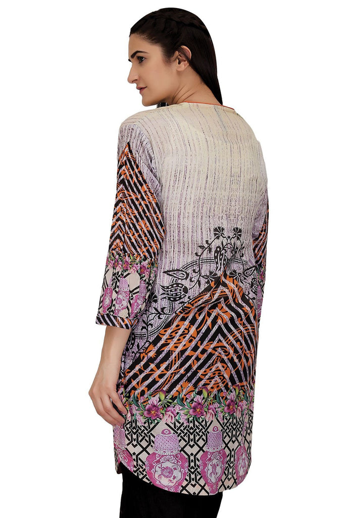 Warda Designer Collection - Single Shirt Lawn Print LS18083