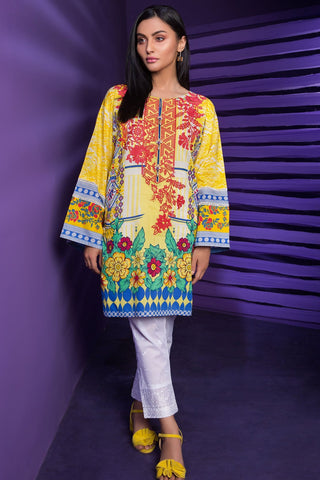 Warda Designer Collection - Single Shirt Lawn Embroidery 1308222