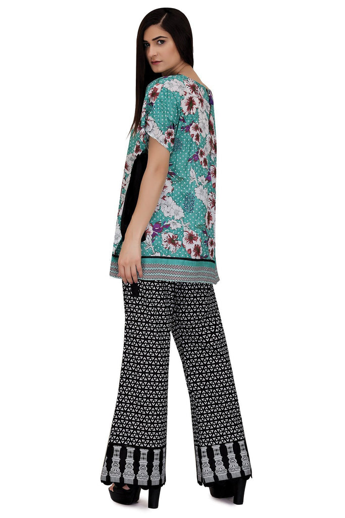 TOP Single Shirt Lawn Print LS18119
