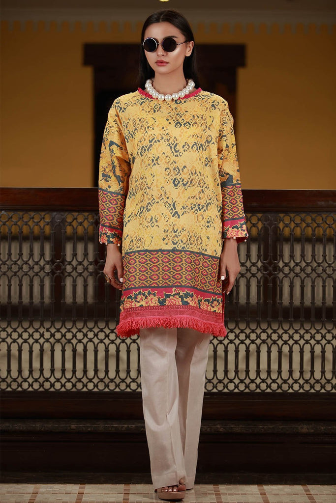 Warda Designer Collection - Single Shirt Lawn Print 1308434