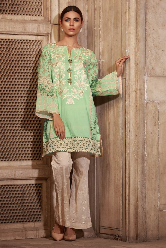 Warda Designer Collection - Single Shirt Lawn Embroidery 1308405