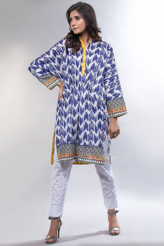 BOLD Single Shirt Lawn Print LS18239 - Pret - Warda Designer Collection