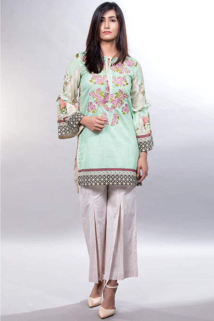 Warda Designer Collection - Single Shirt Lawn Embroidery LS18232