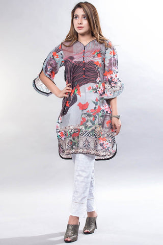 Single Shirt Lawn Print LS18099