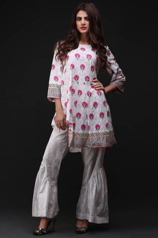 Warda Designer Collection - Single Shirt Lawn Print 1308067
