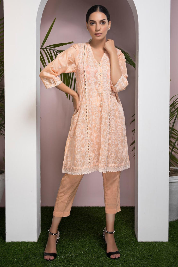 Warda Designer Collection - Single Shirt Lawn Chikan Kari 1308502