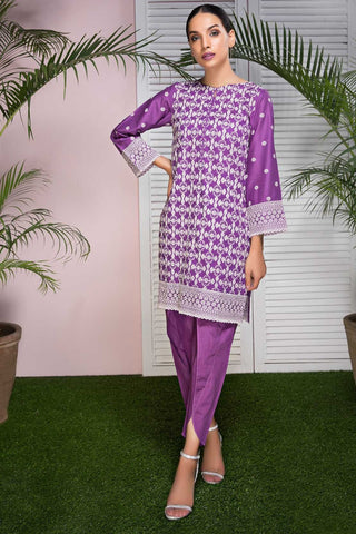 Warda Designer Collection - Single Shirt Lawn Chikan Kari 1308563