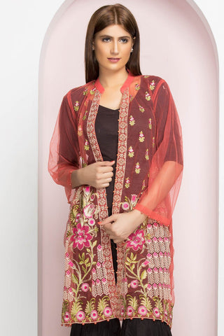 Stitched Single Shirt Embroidery LPSS765 - Pret - Warda Designer Collection