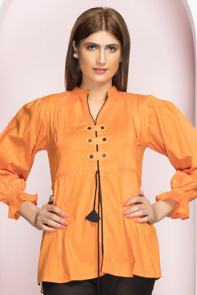 Stitched Single Shirt LS18179 - Pret - Warda Designer Collection