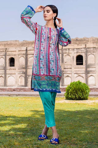 Warda Designer Collection - Single Shirt Lawn Print 1308550
