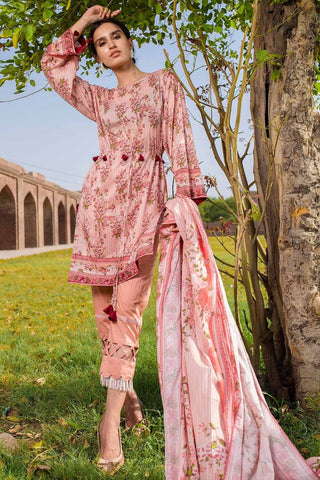 Warda Designer Collection - 2PC Lawn Print 2558521