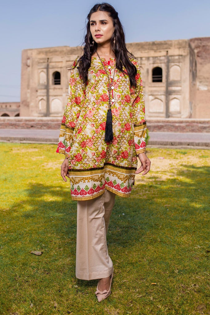Warda Designer Collection - Single Shirt Lawn Print 1308207