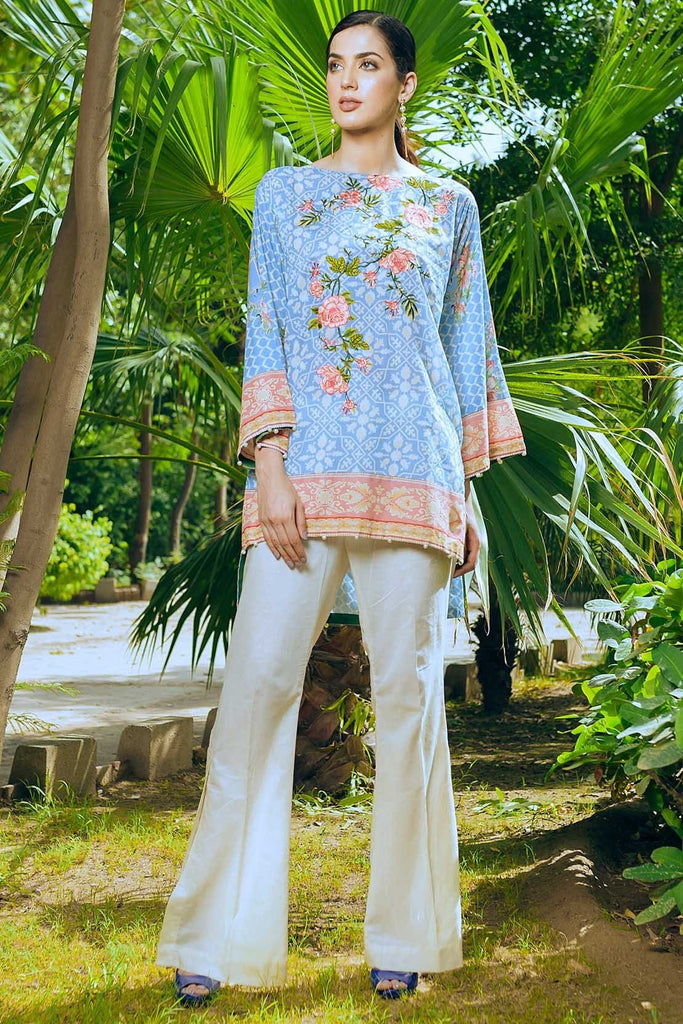 Warda Designer Collection - Single Shirt Lawn Embroidery 1308554