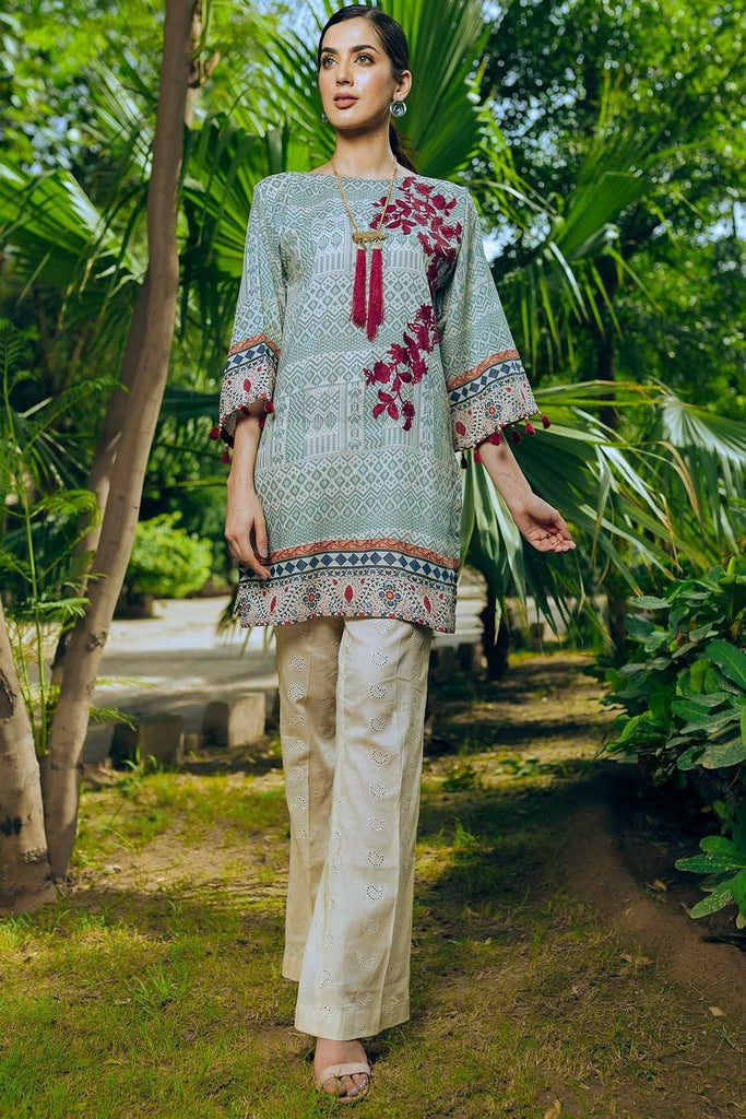 Warda Designer Collection - Single Shirt Lawn Embroidery 1308555