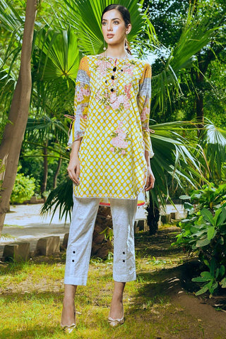 Warda Designer Collection - 2PC Lawn Embroidery 2558560