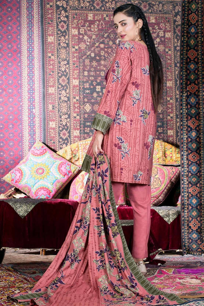 Warda Designer Collection - 3PC Linen Embroidery 3818801