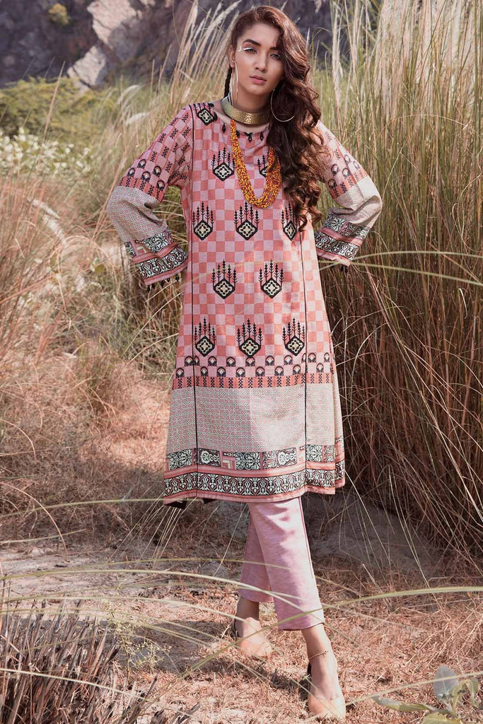 Warda Designer Collection - Single Shirt Silk Karandi Embroidery 1308945