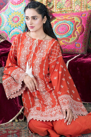 Warda Designer Collection - Single Shirt Khaddar Chikan Kari 1308886