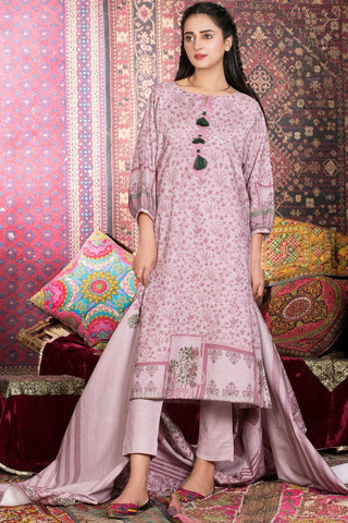 Warda Designer Collection - 3PC Khaddar Print 388853A