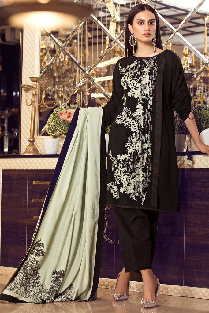 Warda Designer Collection - Dark Bloom 3818982