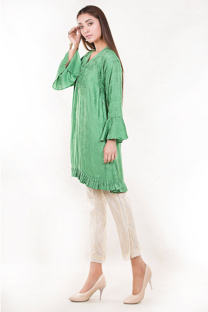 Stitched Single Shirt Jacquard LW17613 - Pret - Warda Designer Collection