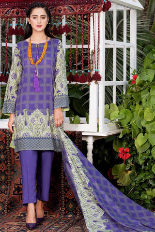 Warda Designer Collection - Single Shirt Linen Print 1308814