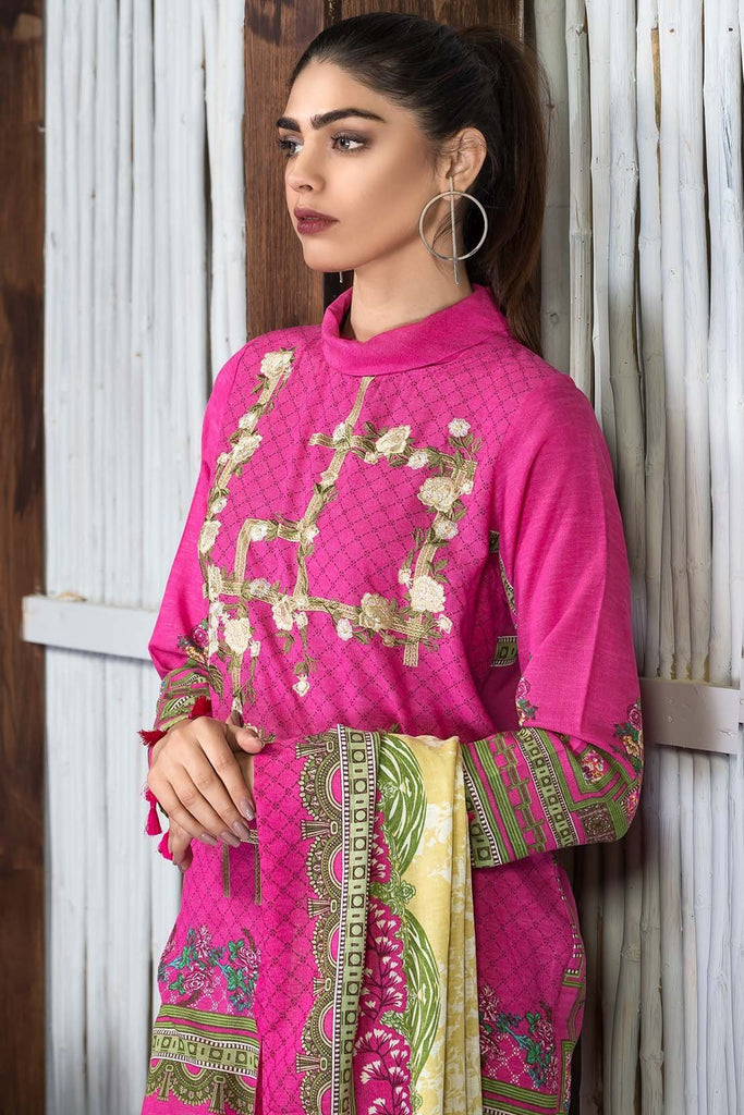3PC Silk Karandi Embroidery 3818924