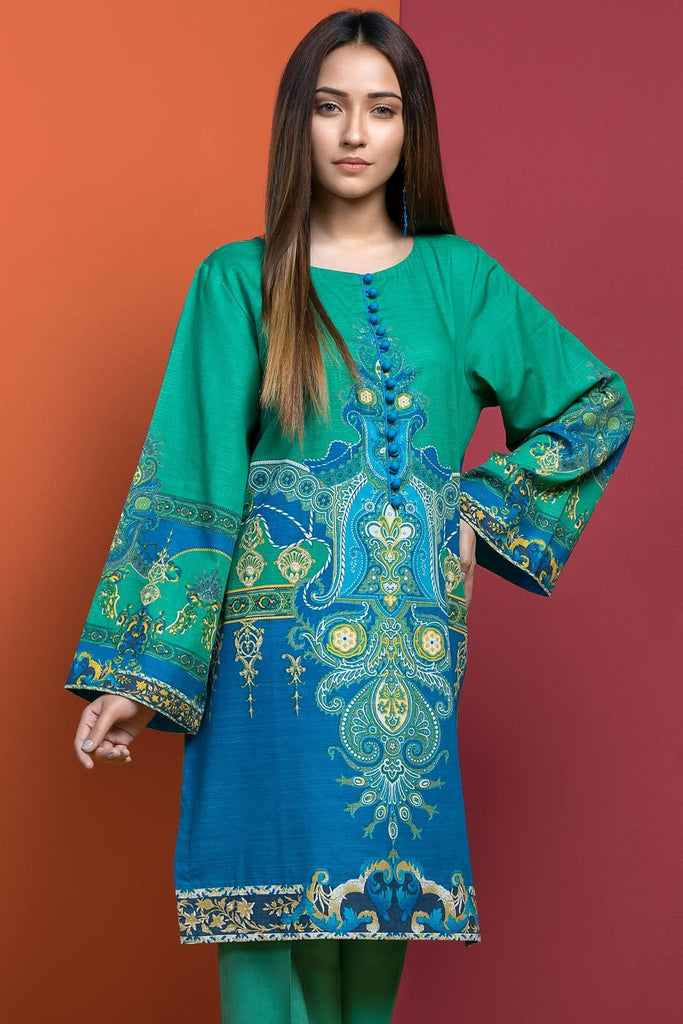 Single Shirt Khaddar Print 1308913