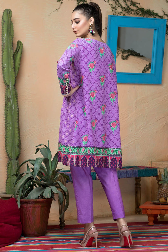 Warda Designer Collection - Single Shirt Silk Karandi Embroidery 1308952