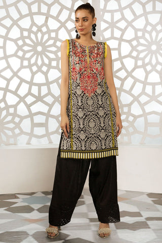 Warda Designer Collection - Single Shirt Lawn Embroidery 2.5 Meters 1309312
