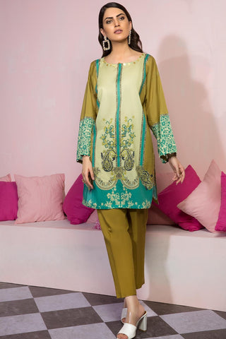 Warda Designer Collection - 2PC Lawn Print with Trouser 259364A