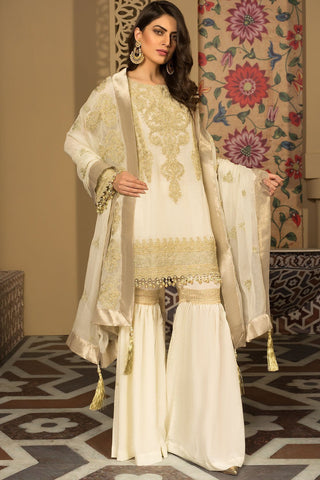 Warda Designer Collection - Melange Pure Akasi Nama 3819296