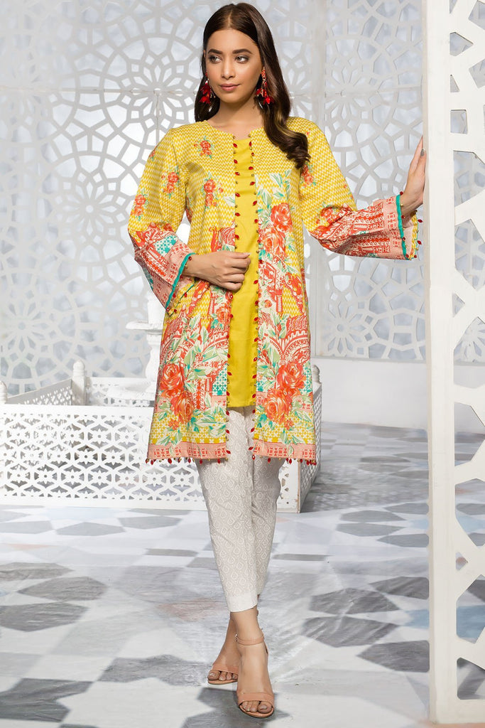 Single Shirt Lawn Print 139300A - Unstitched - Warda Designer Collection