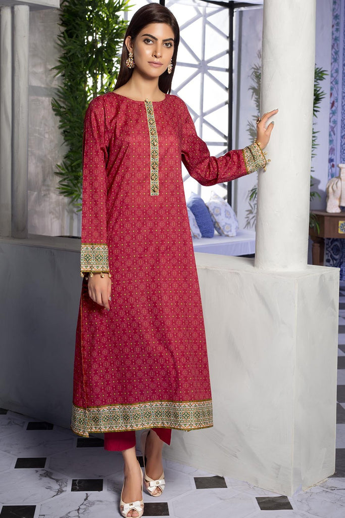 Warda Designer Collection - Single Shirt Lawn Print 2.5 Meters 1309467