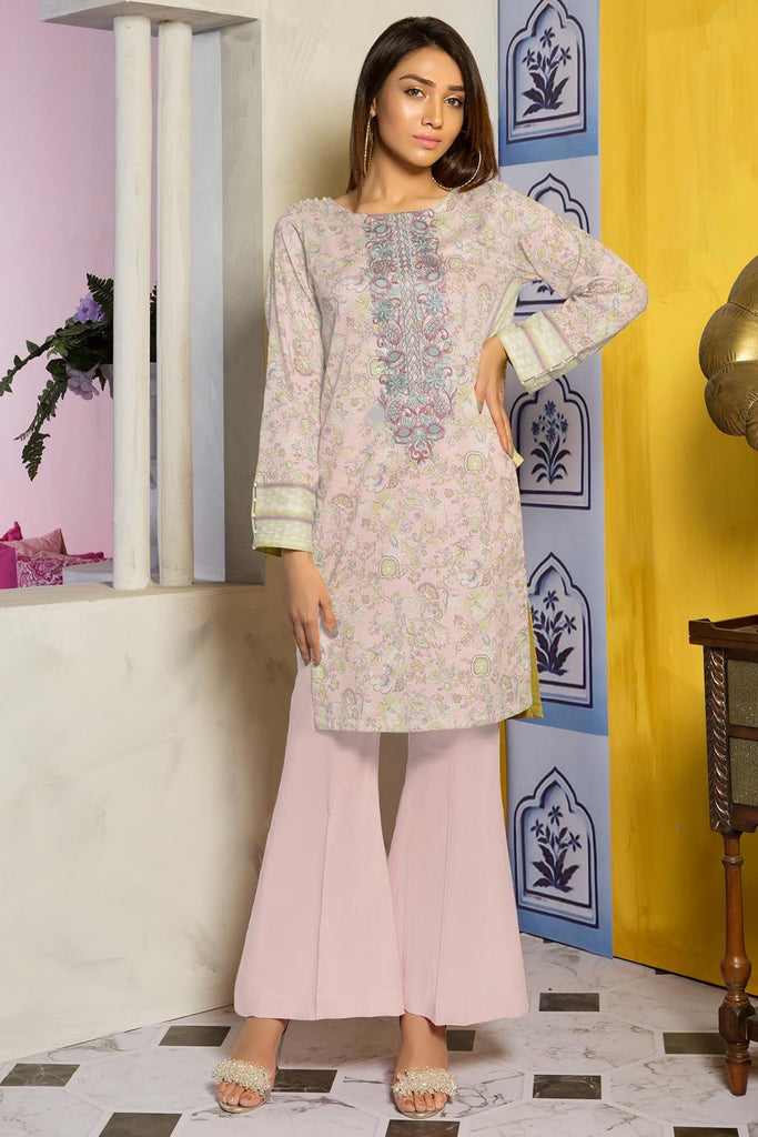 Warda Designer Collection - Single Shirt Lawn Embroidery 2.5 Meters 1309478