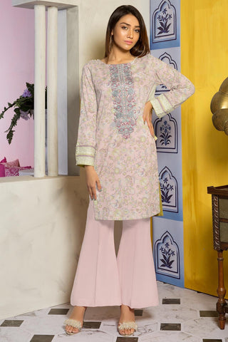 Single Shirt Lawn Embroidery 2.5 Meters 1309478 - Unstitched - Warda Designer Collection
