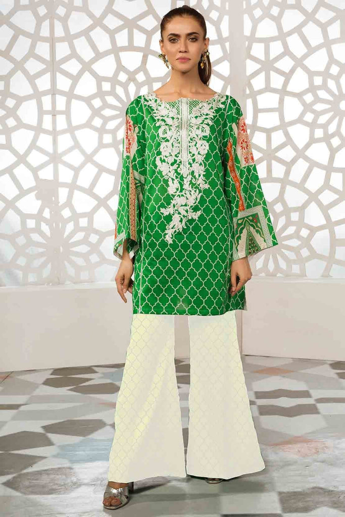 Warda Designer Collection - Single Shirt Lawn Kashmiri Embroidery 1309331